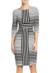 Gabby Skye Women's Stripe Sheath Dress