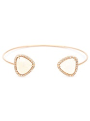 Kimberly Mcdonald Diamond Pave Opal Bangle Yellow And Orange