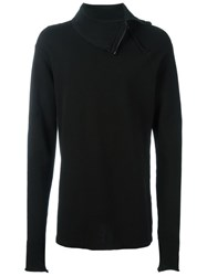 Lost And Found Ria Dunn High Collar Sweater Black