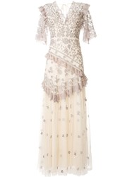 Needle And Thread Floral Embroidered Long Dress 60