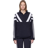 Adidas Originals Navy 96 Qz Zip Up Sweater