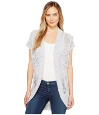 B Collection By Bobeau Ysabel Dolman Sleeve Cardigan Blue Mix Women's Sweater