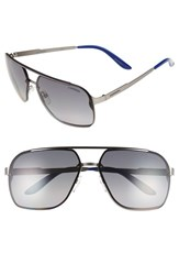 Carrera Men's Eyewear '91 S' 64Mm Polarized Sunglasses Matte Ruthenium Grey Matte Ruthenium Grey