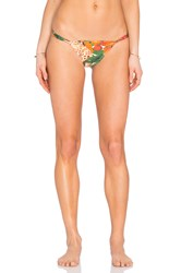 Aguadecoco Brazilian Bikini Bottom Orange