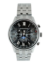 Earnshaw Timepieces Wrist Watches Men Silver
