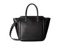 Ivanka Trump Tribeca Solutions Satchel Black Core Scallop Edges Satchel Handbags