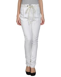 Les Prairies De Paris Trousers Casual Trousers Women Ivory