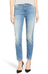 Mother Women's The Rascal Step Hem Ankle Jeans