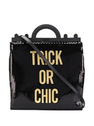 Moschino Sequinned Trick Or Chic Tote Bag 60