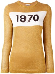Bella Freud 'Sparkle 1970' Jumper Metallic