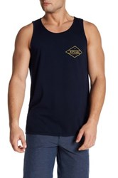 Rip Curl Scoop Neck Graphic Print Tank Blue