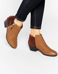 Call It Spring Marguarite Cognac Flat Western Boots
