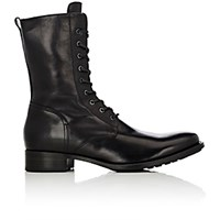 Buttero Men's Side Zip Boots Black Blue Black Blue