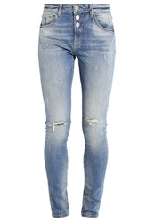 Only Onlliberty Slim Fit Jeans Medium Blue Blue Denim