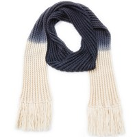 The North Circular Tomlin Scarf Dip Dye Grey