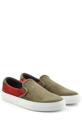 Diemme Suede Slip On Sneakers