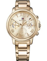 Tommy Hilfiger 1781743 Claudia Pvd Gold Plated Watch