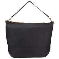 John Lewis Harriet Leather Hobo Bag Black