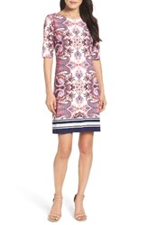 Eliza J Women's Print Shift Dress