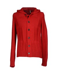 Gaudi' Knitwear Cardigans Men Red