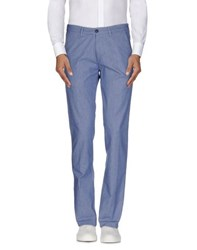 40Weft Trousers Casual Trousers Men Slate Blue