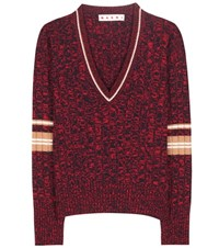 Marni Cashmere Sweater Red