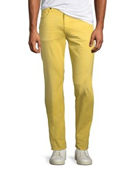 7 For All Mankind Adrien Slim Twill Jeans Yellow