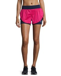 Puma Culture Surf 2 In 1 Athletic Shorts Blue Pink Blue Pink