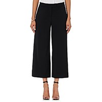 A.L.C. Women's Woods Gaucho Pants Black Blue Black Blue