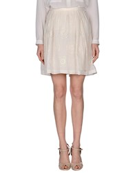 Coast Weber And Ahaus Skirts Knee Length Skirts Women Ivory