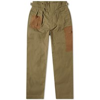Nigel Cabourn Army Buckle Pant Green