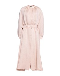 Emilia Wickstead Overcoats Light Pink