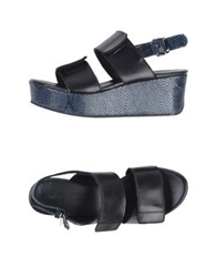 Surface To Air Sandals Black