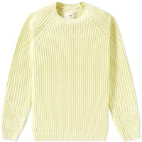 Folk Chunky Direction Crew Knit Yellow