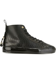 Android Homme 'Alfa' Hi Tops Black