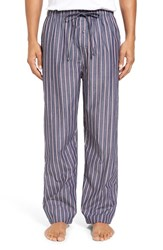 Polo Ralph Lauren Men's Plaid Cotton Lounge Pants Cruise Navy Multi Stripe
