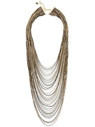 Rosantica Layered Necklace Metallic