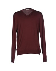 Authentic Original Vintage Style Sweaters Maroon