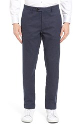 Ted Baker Men's London Roynew Classic Fit Trousers Navy