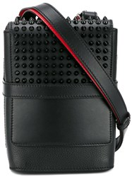 Christian Louboutin Spiked Reporter Bag Black