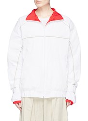 Y Project Colourblock Layered Track Jacket White