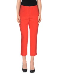 Equipment Femme Trousers 3 4 Length Trousers Women Red