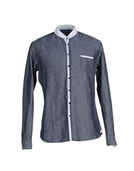 Gallery Shirts Shirts Men Dark Blue