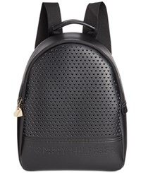 Tommy Hilfiger Laura Double Sided Small Dome Backpack Black