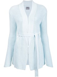 Maiyet Belted Cardigan Blue