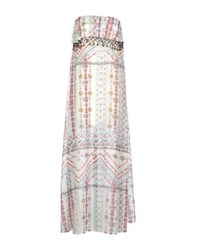 Vicolo Dresses Long Dresses Women White