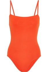 Eres Les Essentiels Aquarelle Swimsuit Tomato Red