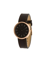 Uniform Wares M35 Two Hand Watch Brown