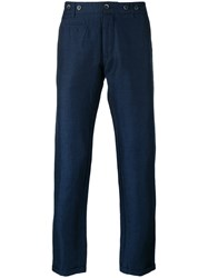 Barena Straight Trousers Blue