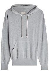 American Vintage Hoody With Cotton Grey